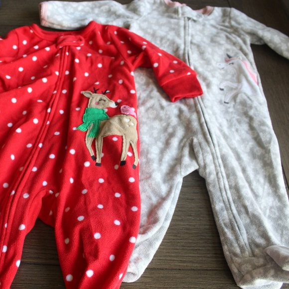 Carter's Other - Carters Onsie Footies 6 months